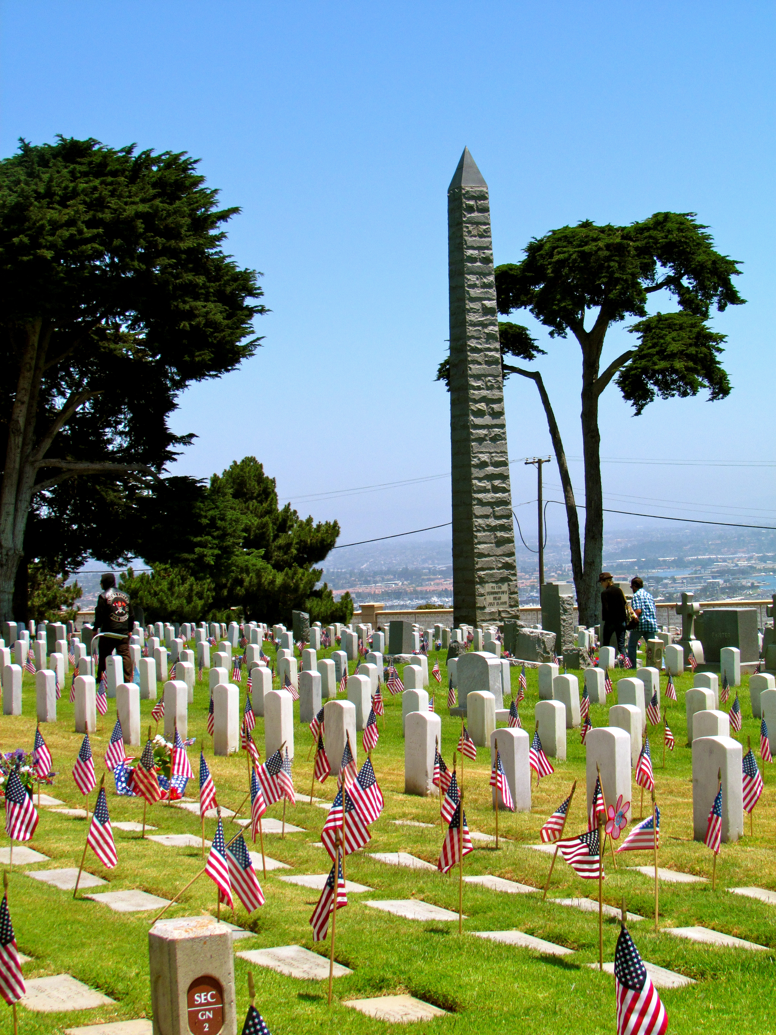 Memorial Day at Fort Rosecrans