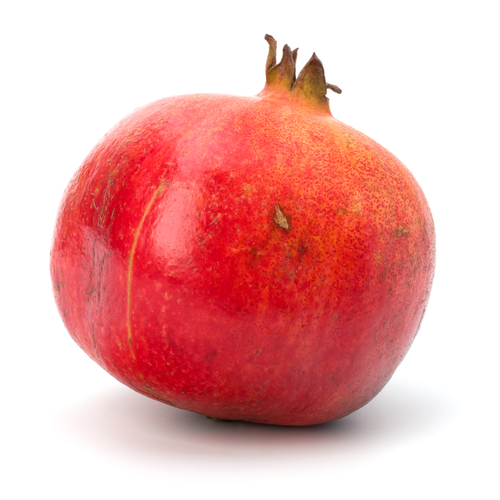 My First Pomegranate - Foodie Loves Fitness