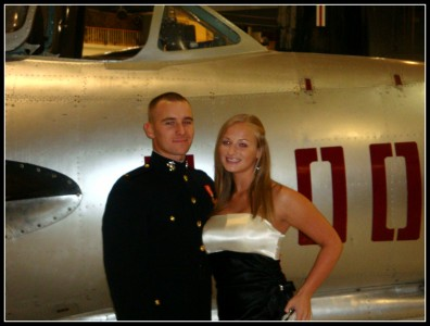 USMC ball in 2009 while we were living in Florida
