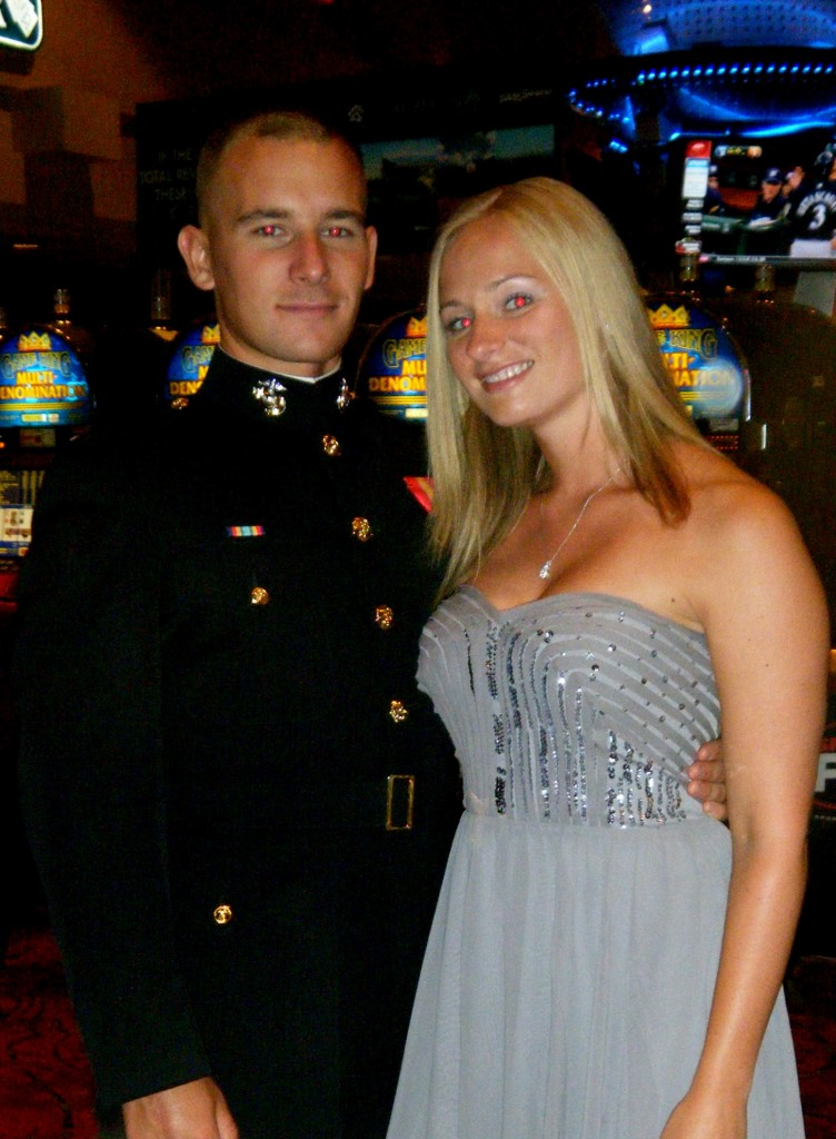 At a Marine Corps event in 2011