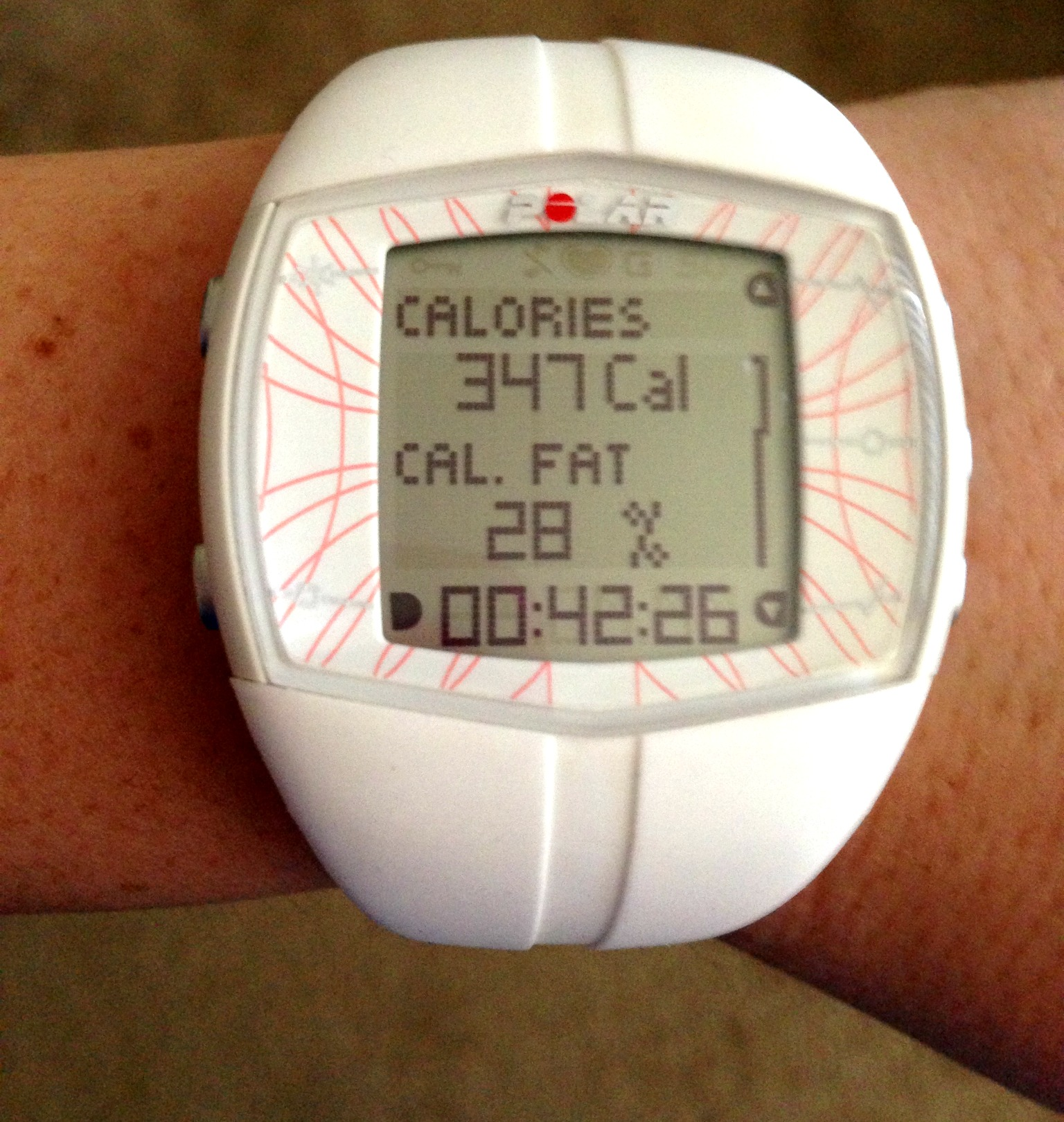 Product Review Polar FT40 Heart Rate Watch Foodie Loves Fitness
