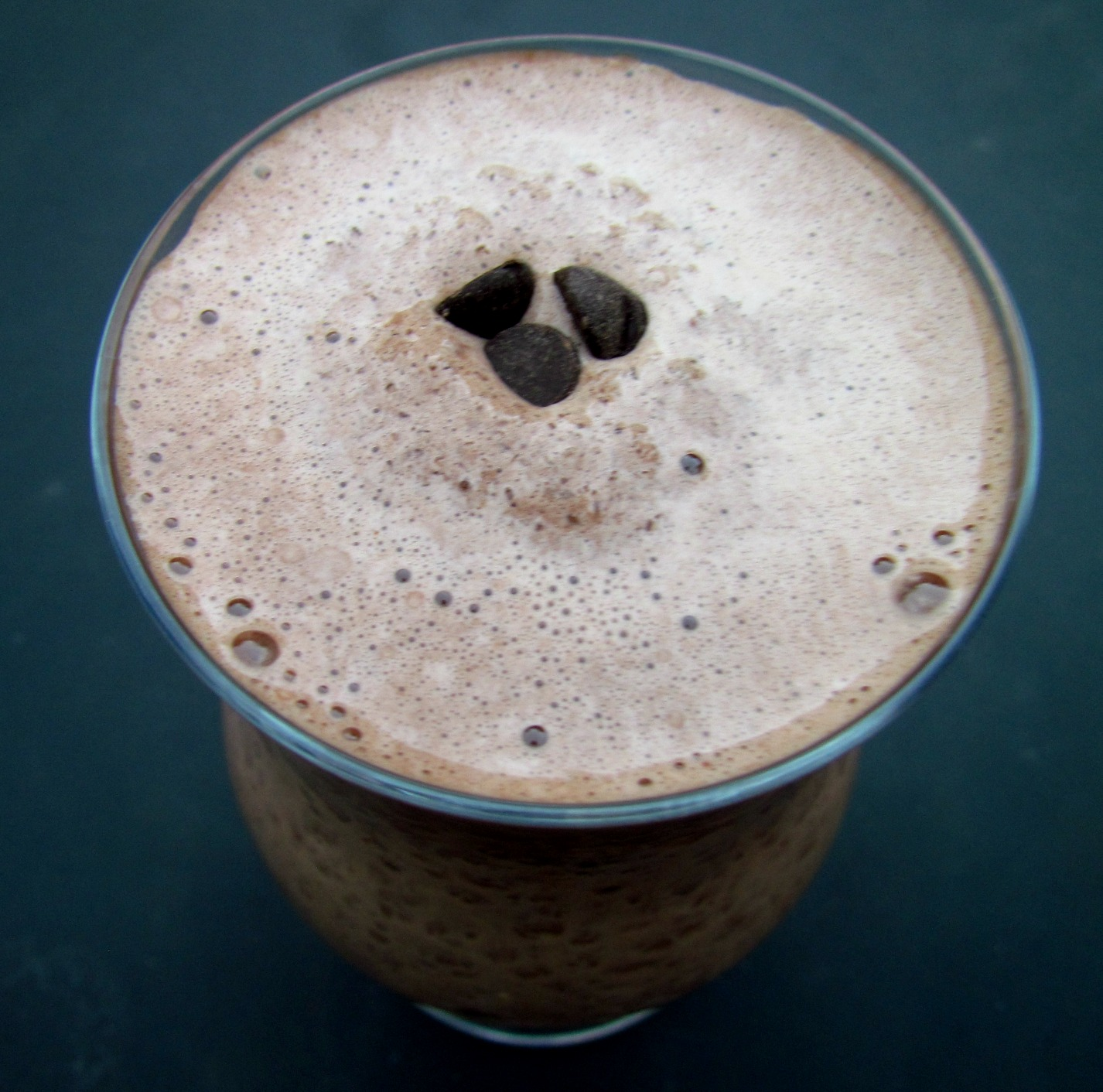 Peppermint Dark Chocolate Smoothie