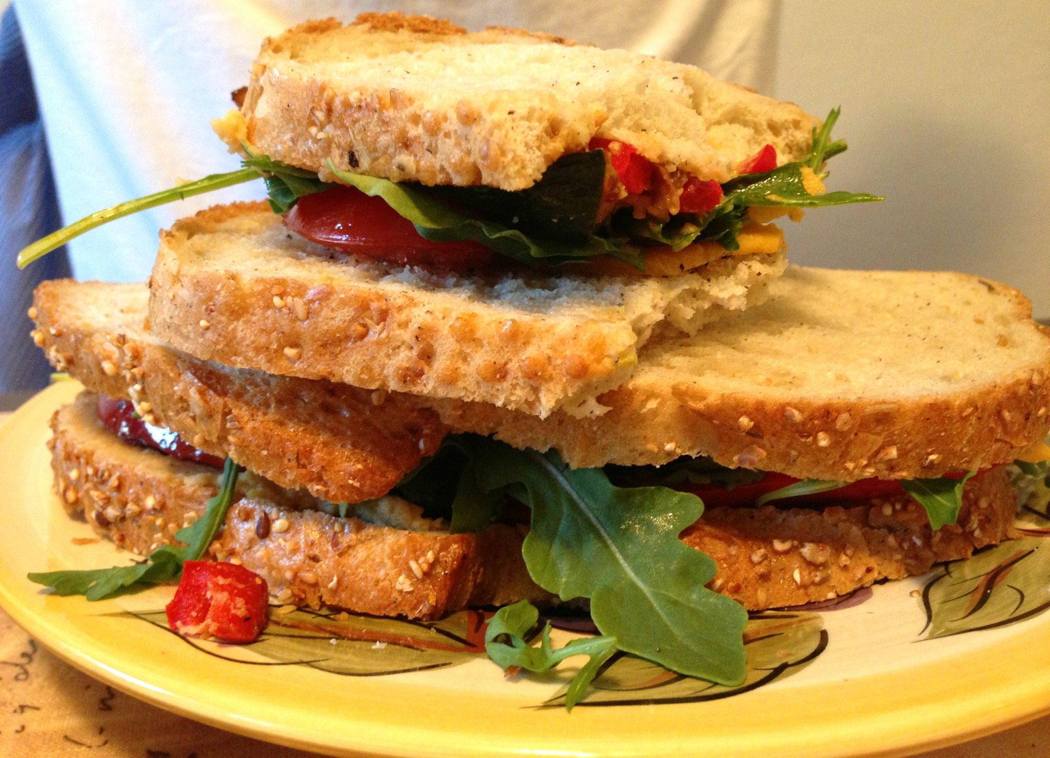 Gourmet Vegetable Sandwiches • Foodie Loves Fitness