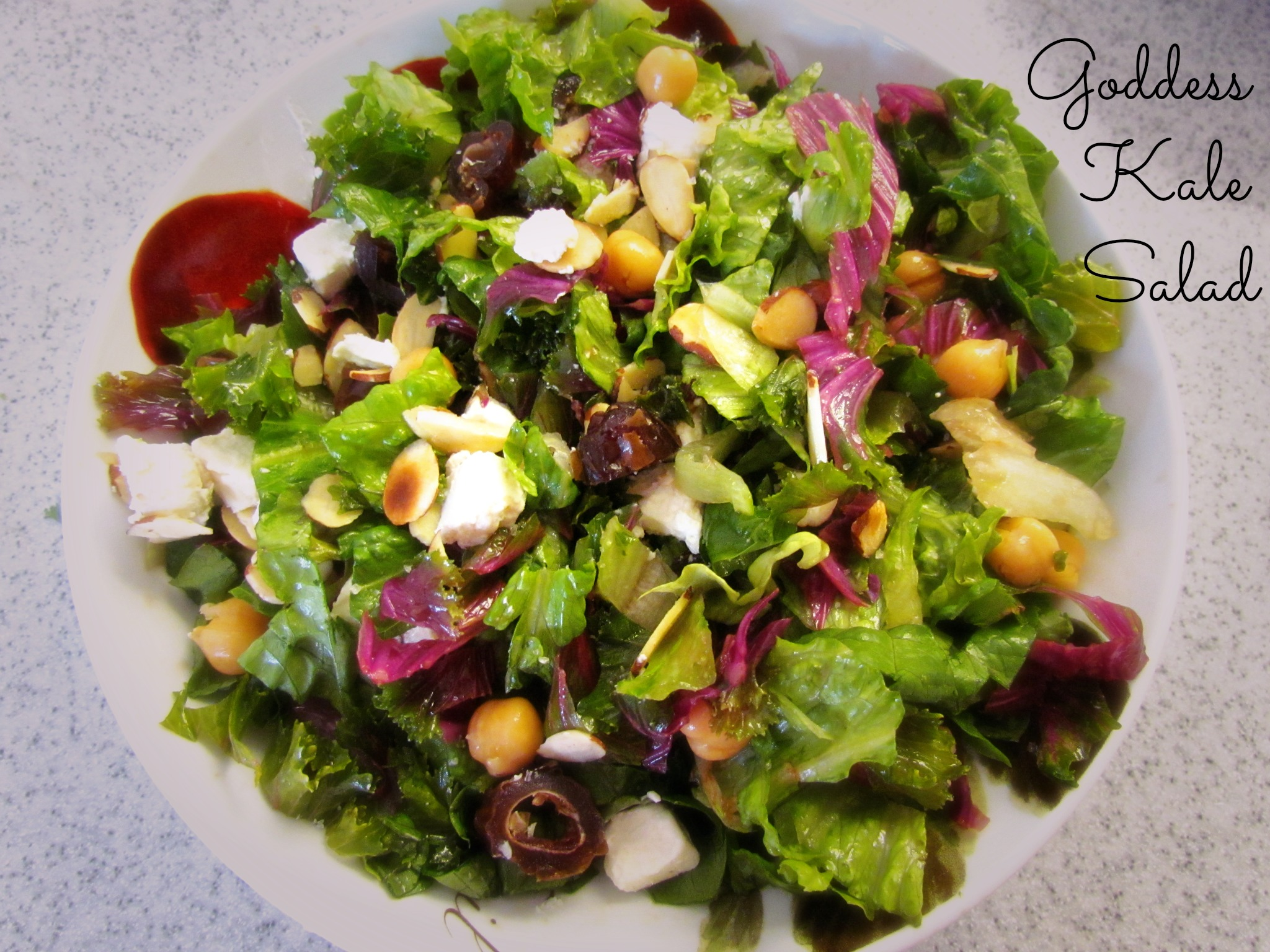 Goddess Kale Salad