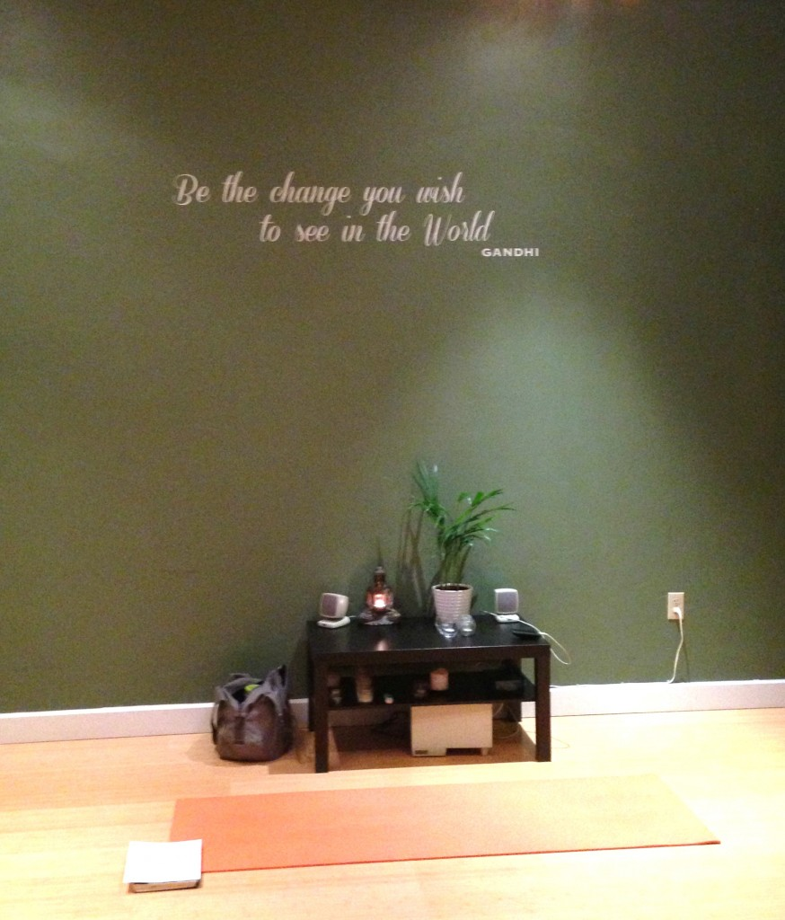 New Scenery for My Practice: Be the Change Yoga & Wellness ...