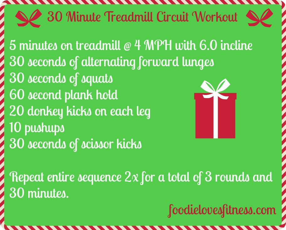 Treadmill Circuit Workout