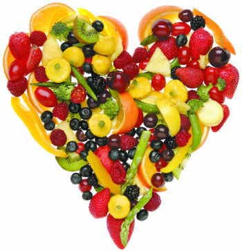 Image result for fruit heart image