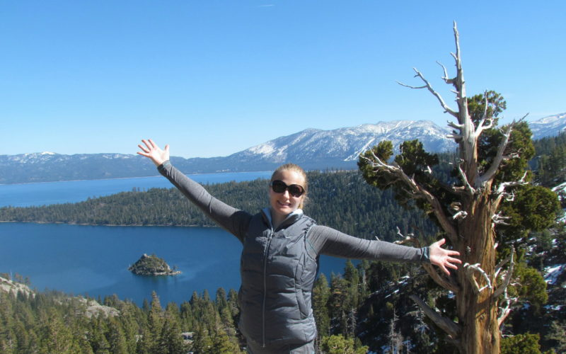 Hiking at Lake Tahoe's Emerald Bay State Park