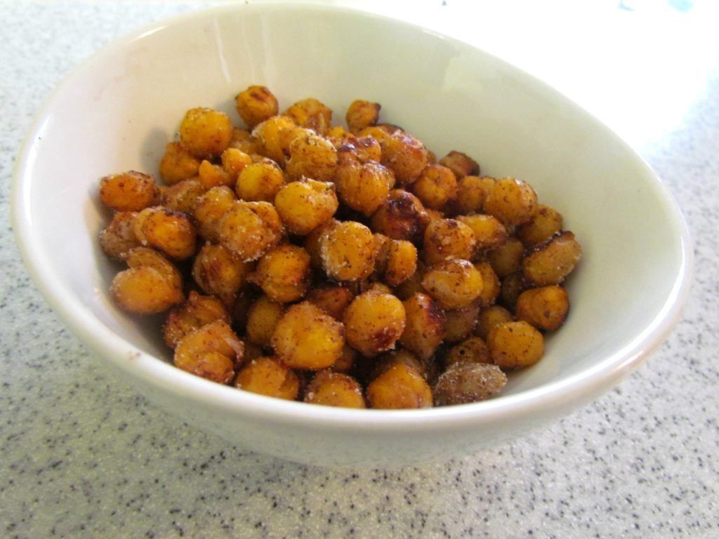Sweet And Salty Roasted Chickpeas Recipes — Dishmaps
