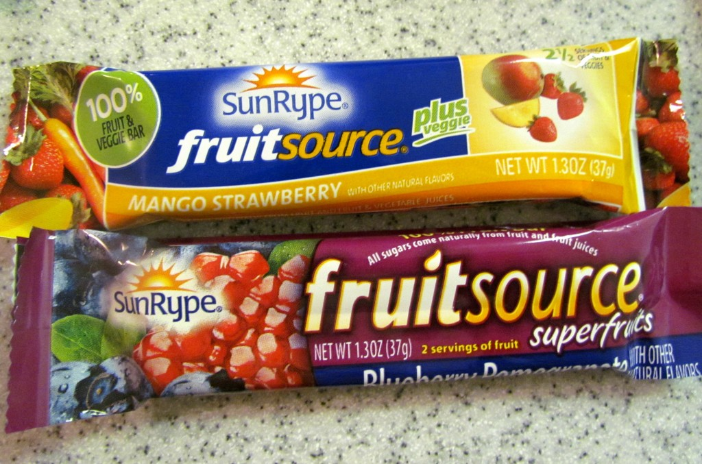 ... dried fruit i mine as well also talk about fruit and veggie bars