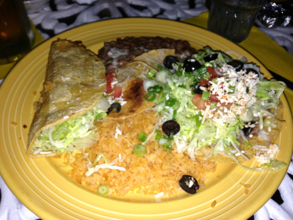 Mexican dinner