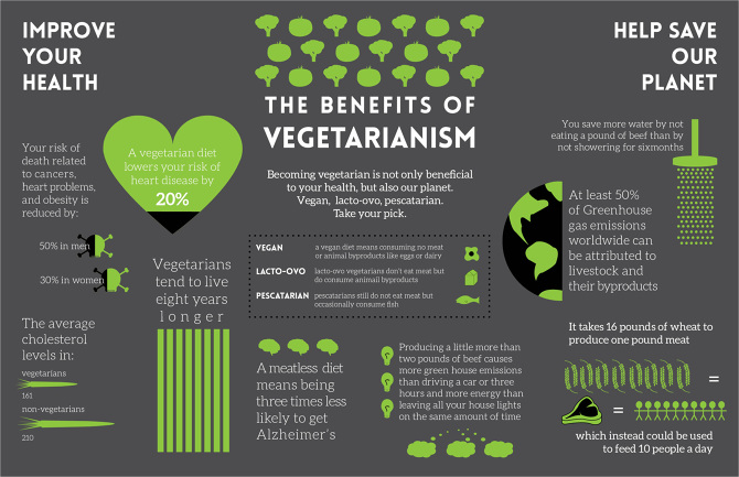 benefits being vegetarian essay