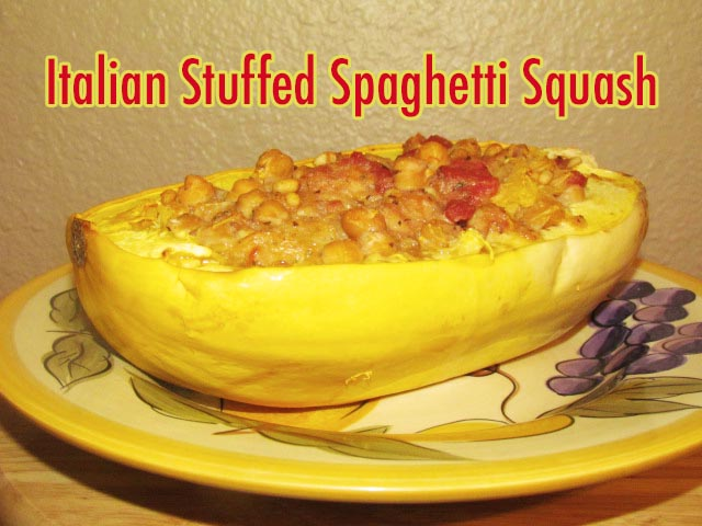 My Annual Halloween Themed Night In + Italian Stuffed Spaghetti Squash