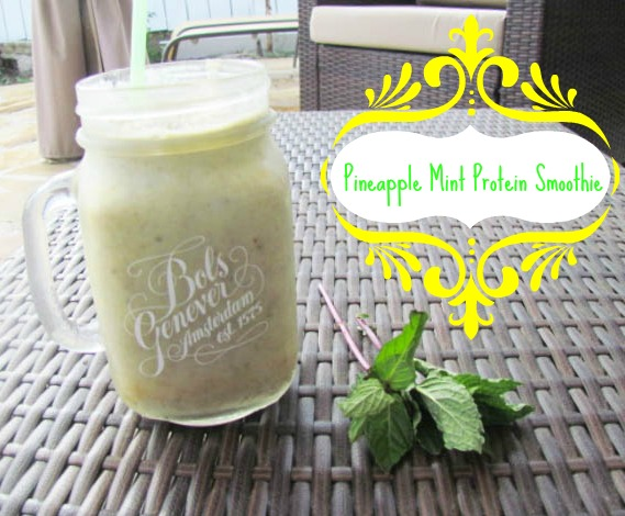 Mint Pineapple Smoothie