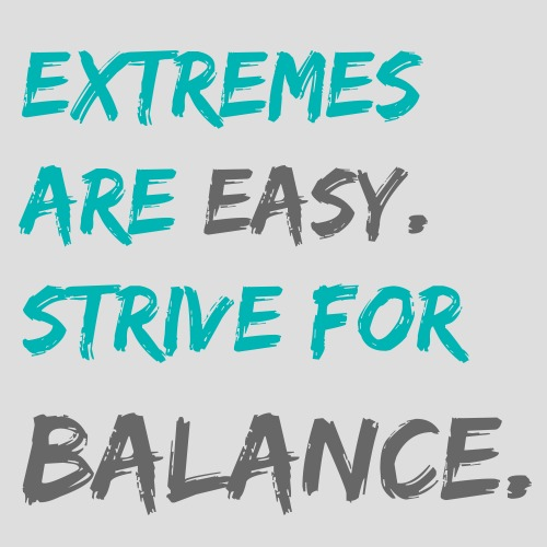 Balance Fitness Quotes