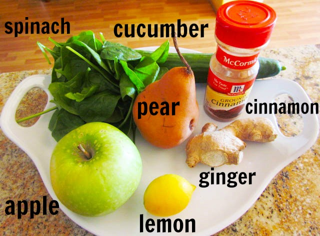 Cleansing Juice Ingredients