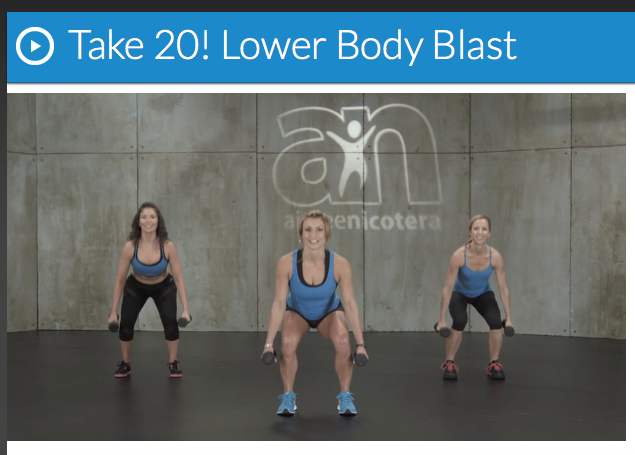 Aimee Nicotera's 20-Minute Lower Body Workout