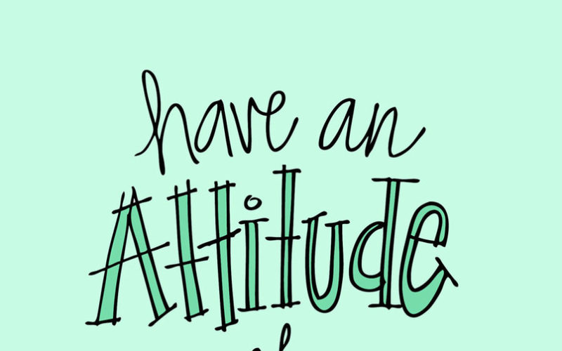 An Attitude of Gratitude: Little Things that are Making Me Happy