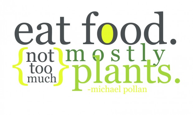 Michael Pollan-Eat Food quote