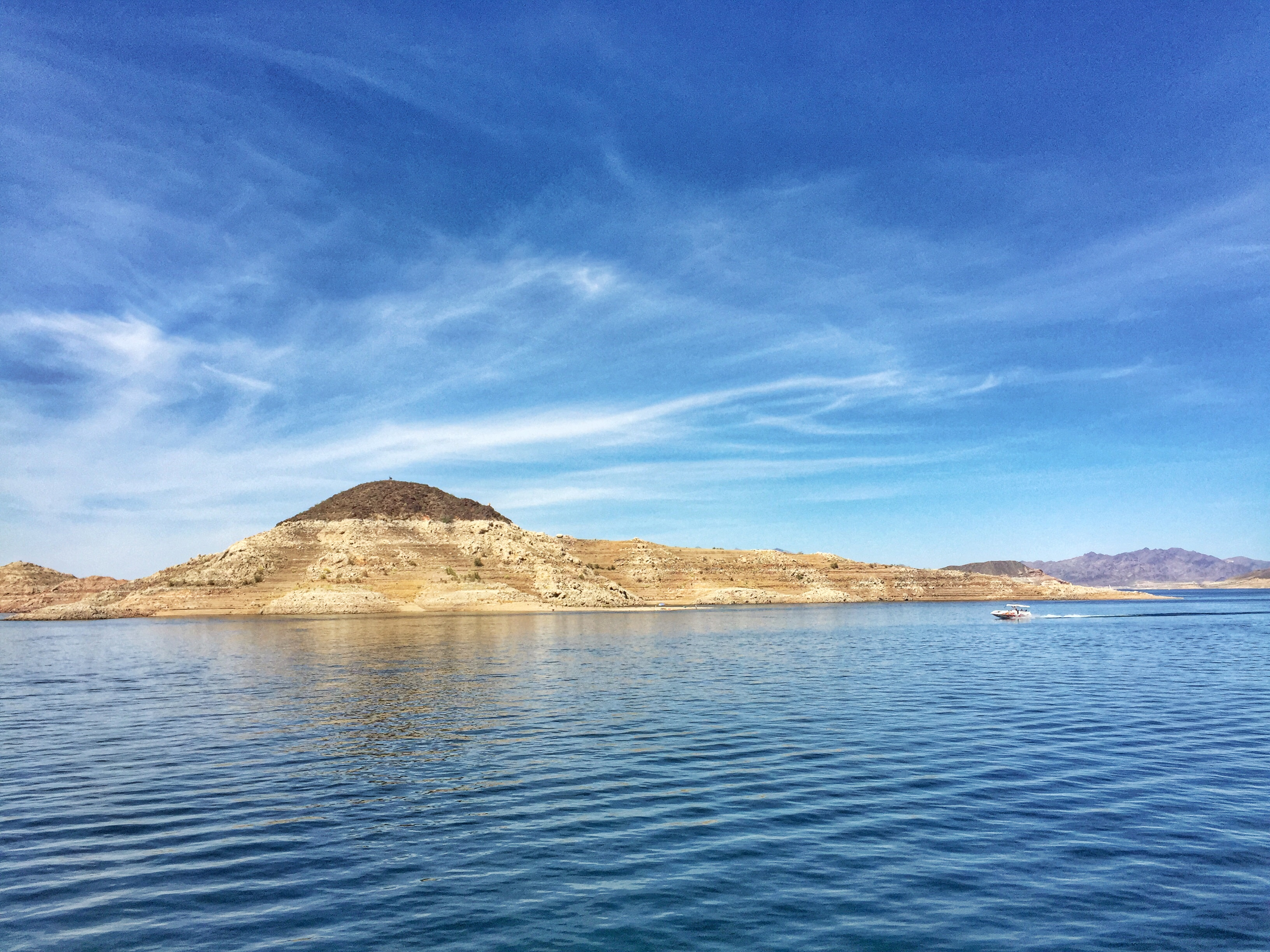 Las Vegas Fun: Boating Around Lake Mead & Vegan Dining at Downtown Container Park