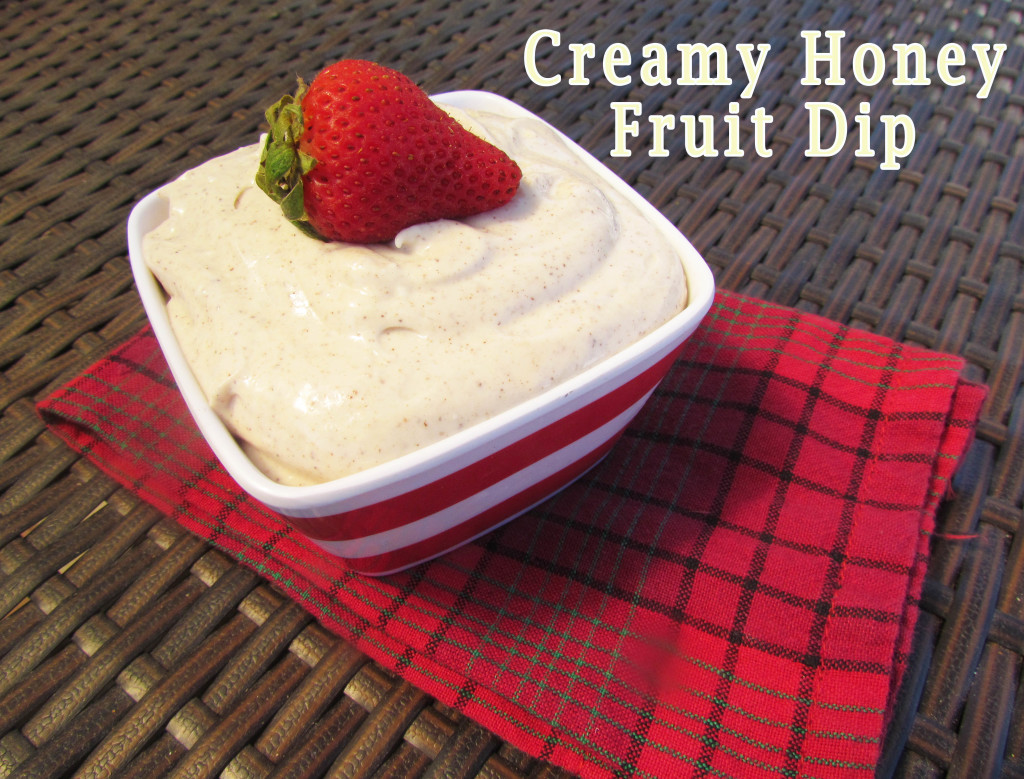 honey fruit dip-2