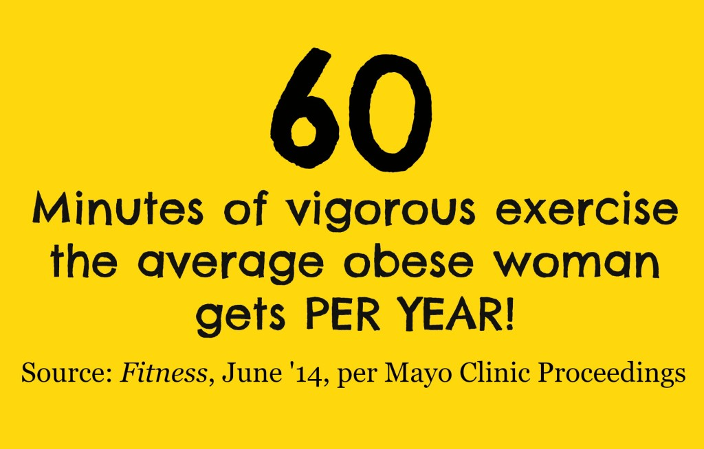 obese women exercise stat