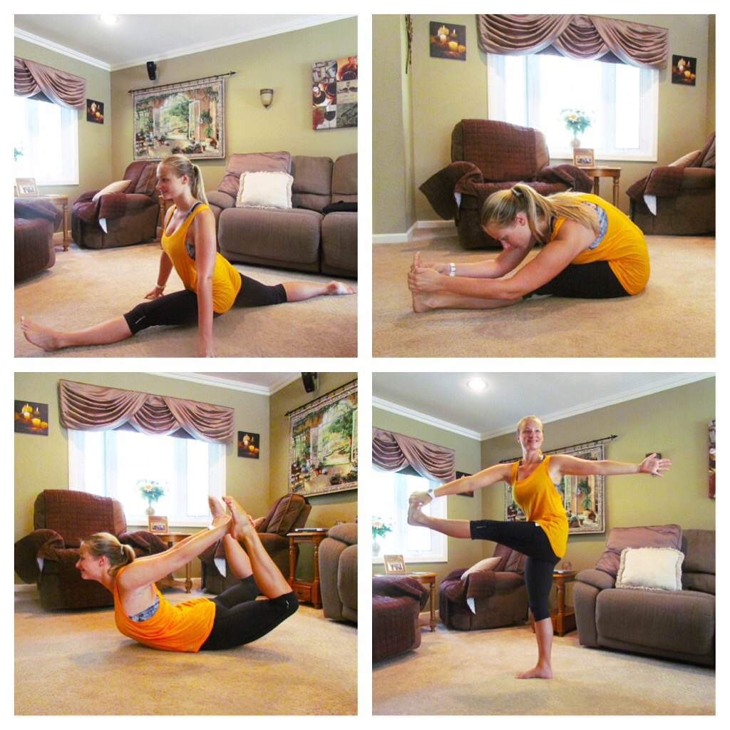 FindYourFlexibility poses
