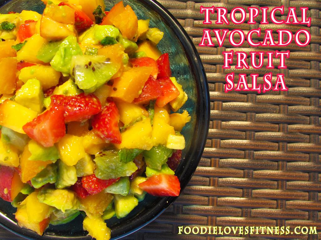 avocado fruit salsa