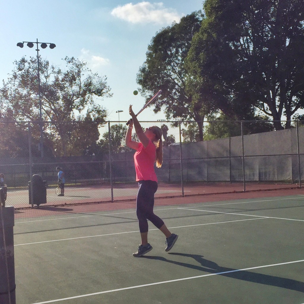 tennis session