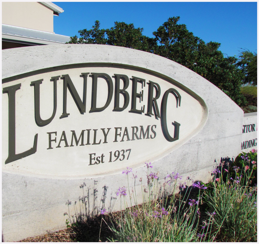 Lundberg Farms sign