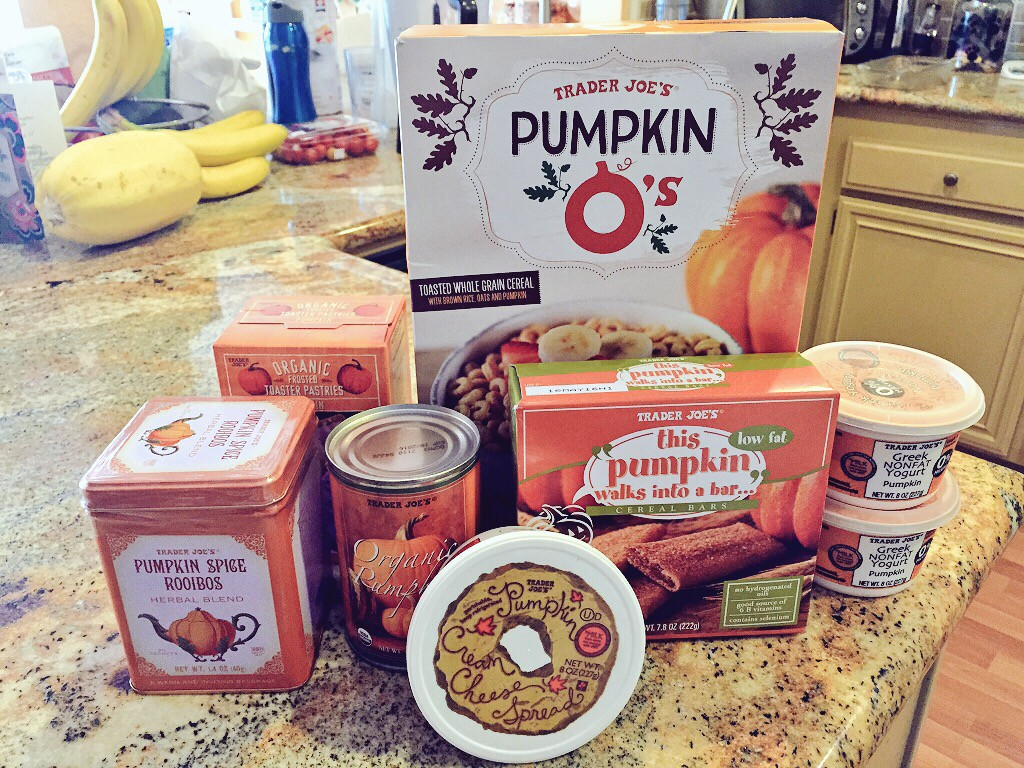 TJs pumpkin buys