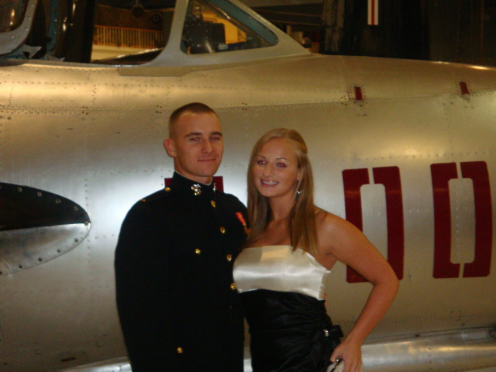My very first Marine Corps ball, circa 2009 in Pensacola, FL