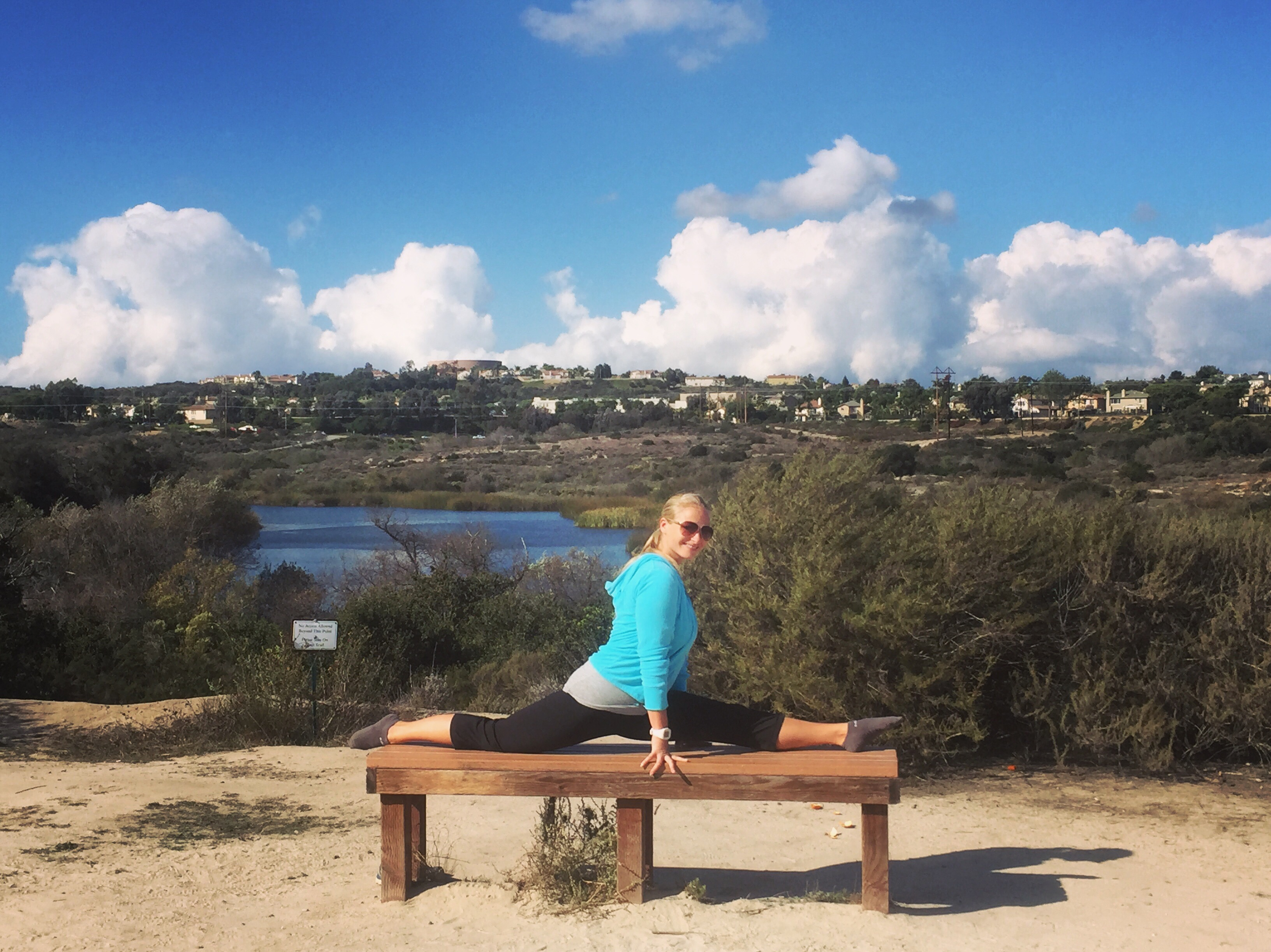 Splits at Calavera Lake