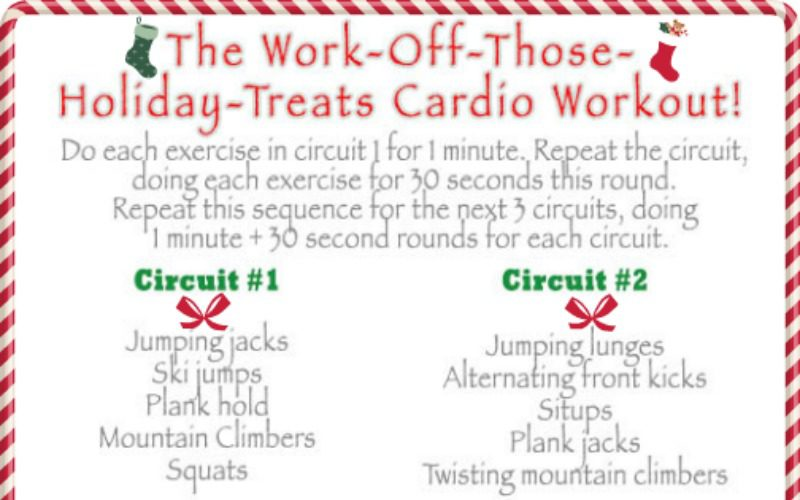 The Work-Off-Those-Holiday-Treats Cardio Workout