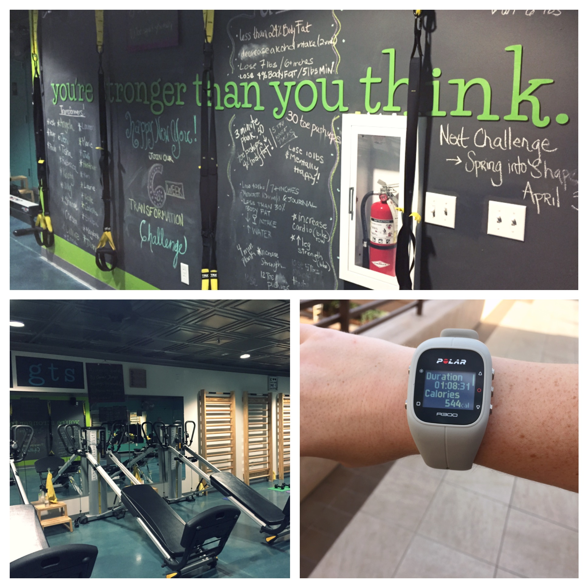 Fit Mill workout collage