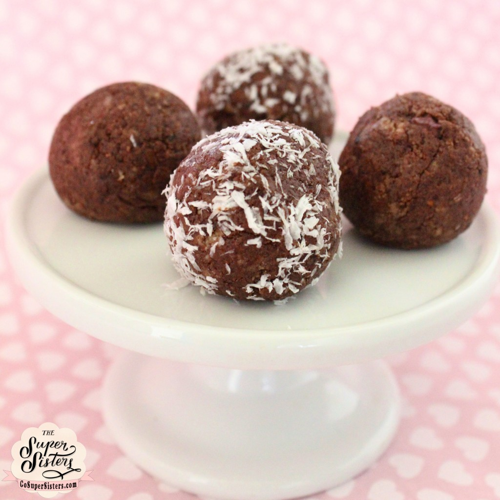 Super Sisters-healthy chocolate truffles