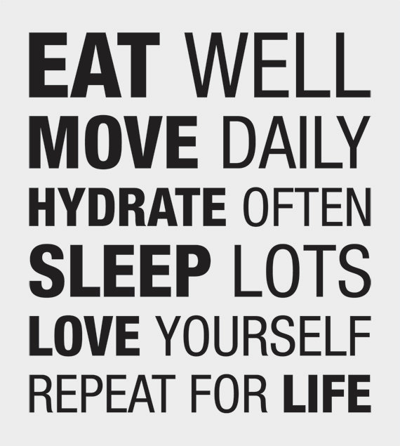 Eat Well Move Daily-quote