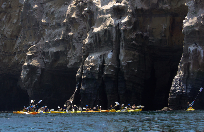 Everyday California kayak tour