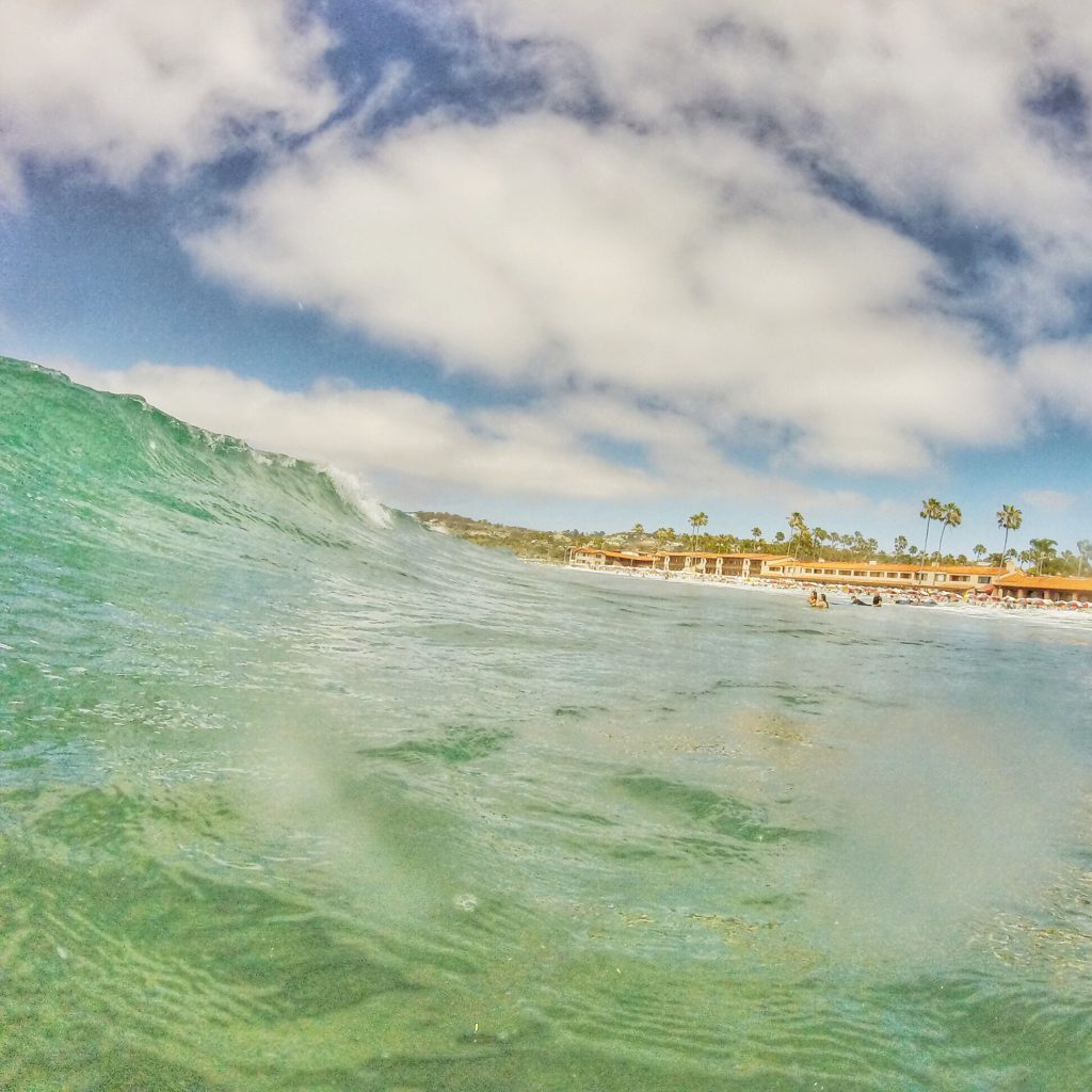 A GoPro shot from my last La Jolla adventure