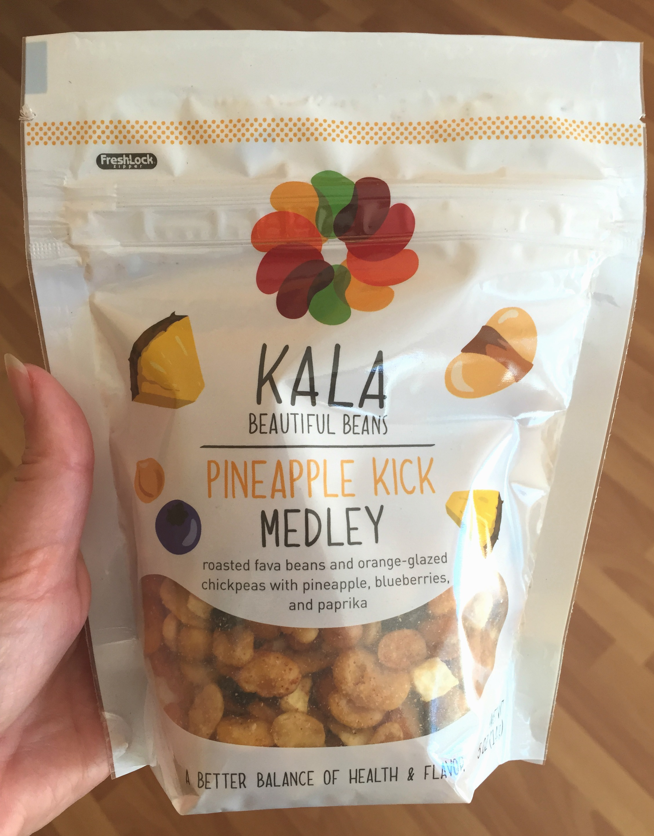 WIAW: Easy Eats + Snacking on Kala Beans {Review}