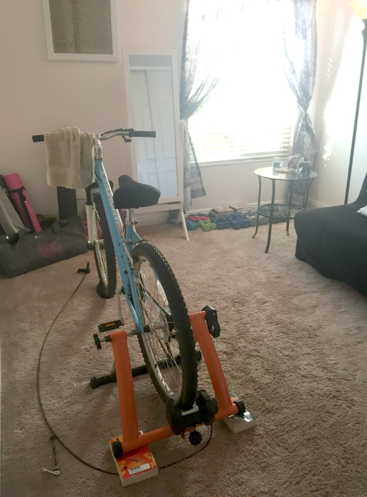 Workout Room-Bike Trainer
