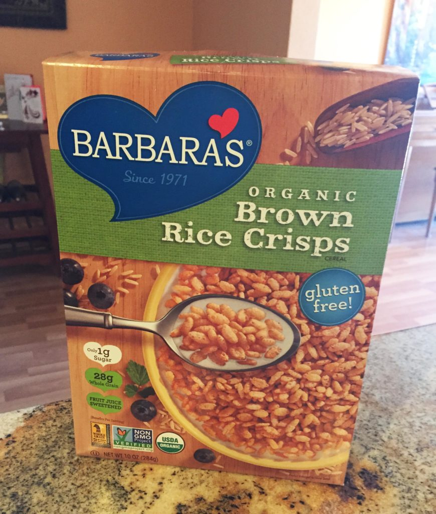Barbara's brown rice crisps