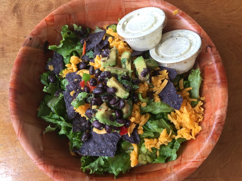 A Lotus Cafe Mexican salad