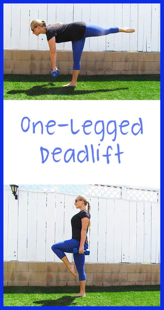 One Legged Deadlift