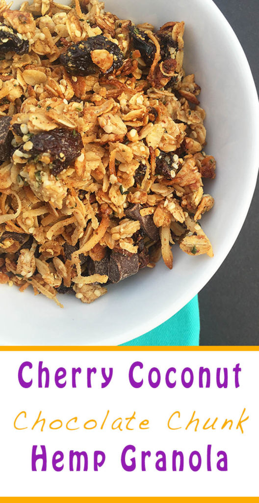 Cherry Coconut Granola
