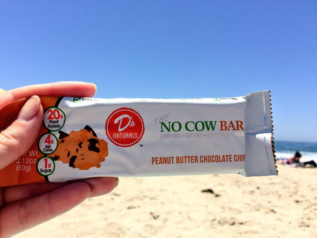 No Cow Bar at the beach