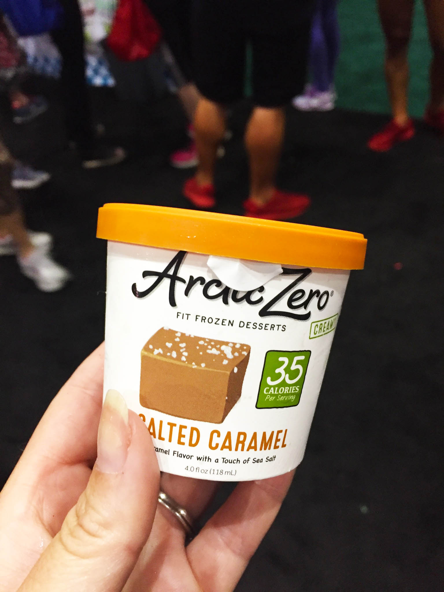 The cutest little protein ice cream cup that I ever did see.