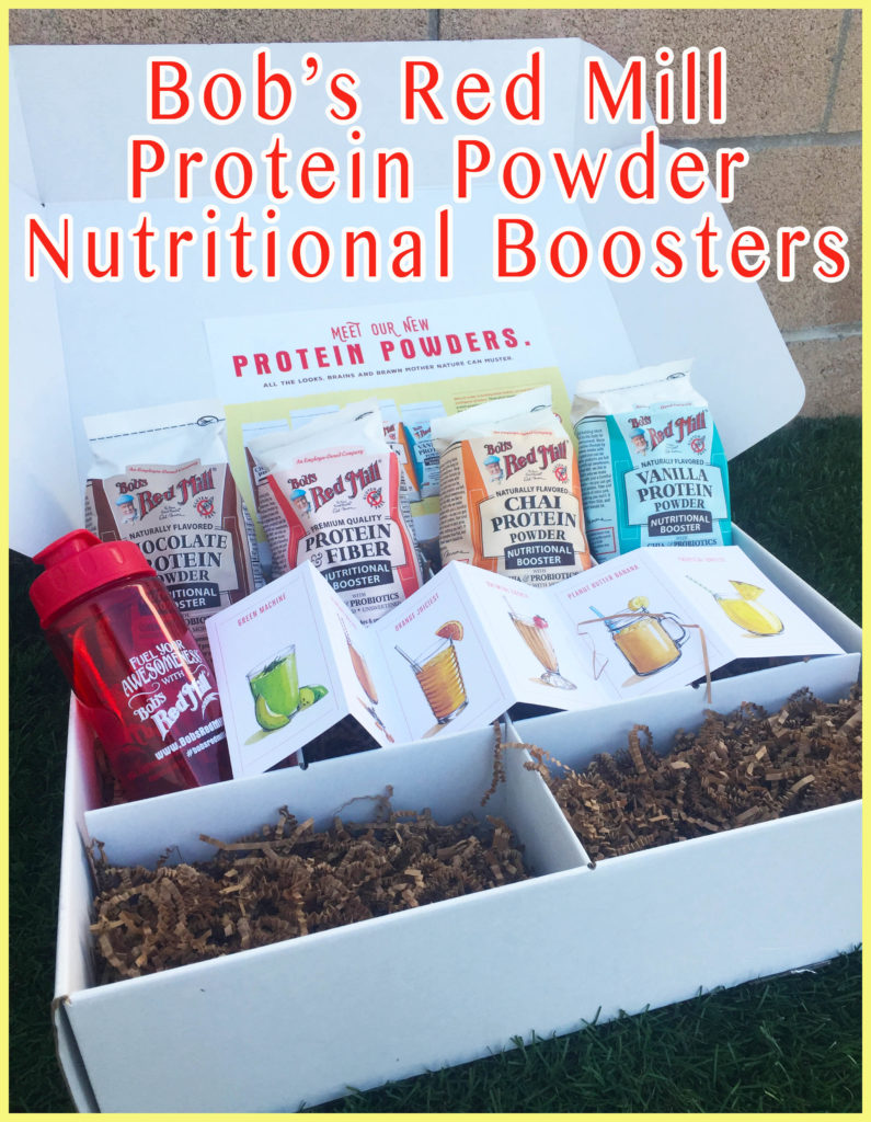 Bob's Red Mill protein powder package