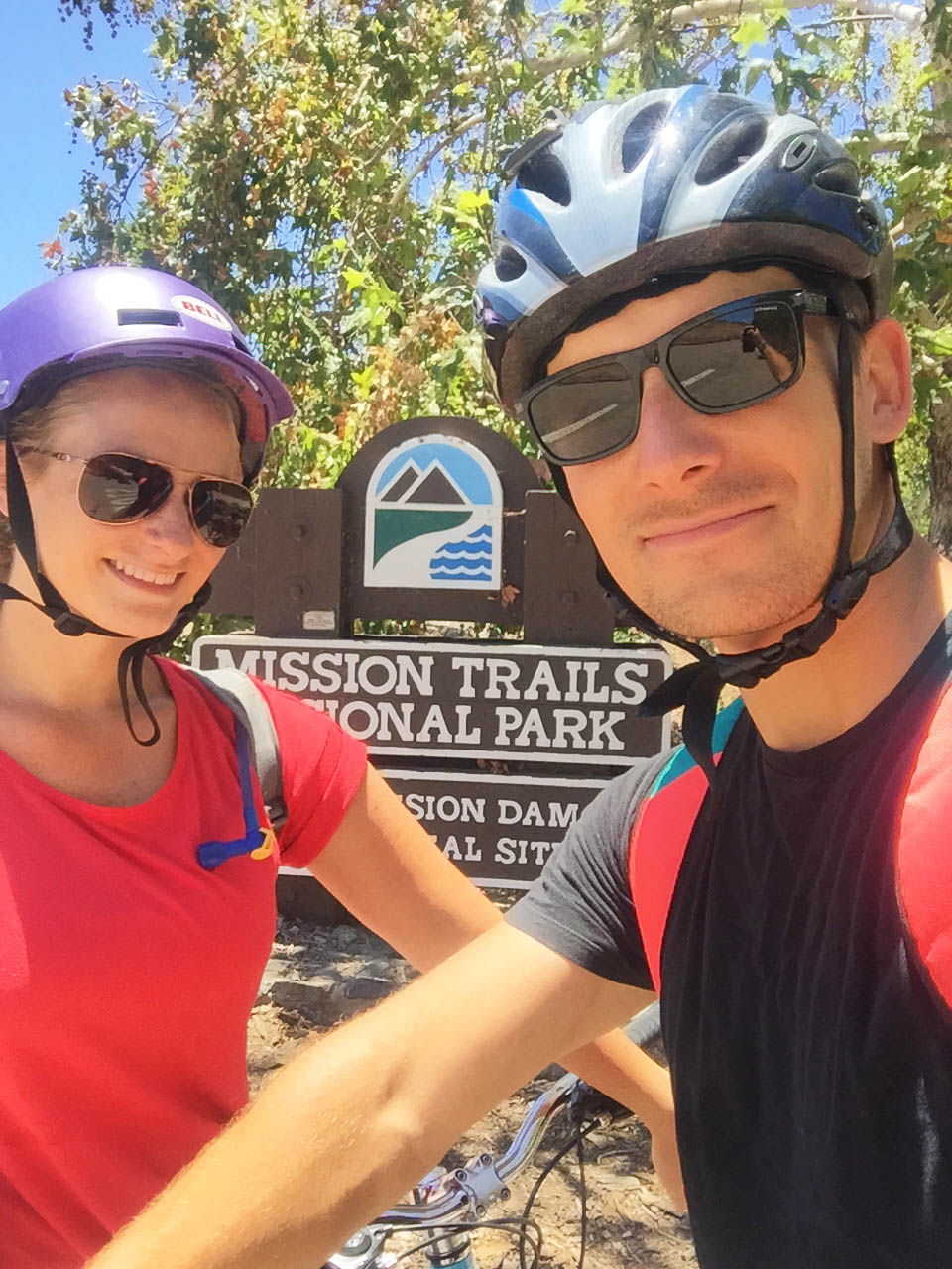 Mission Trails biking