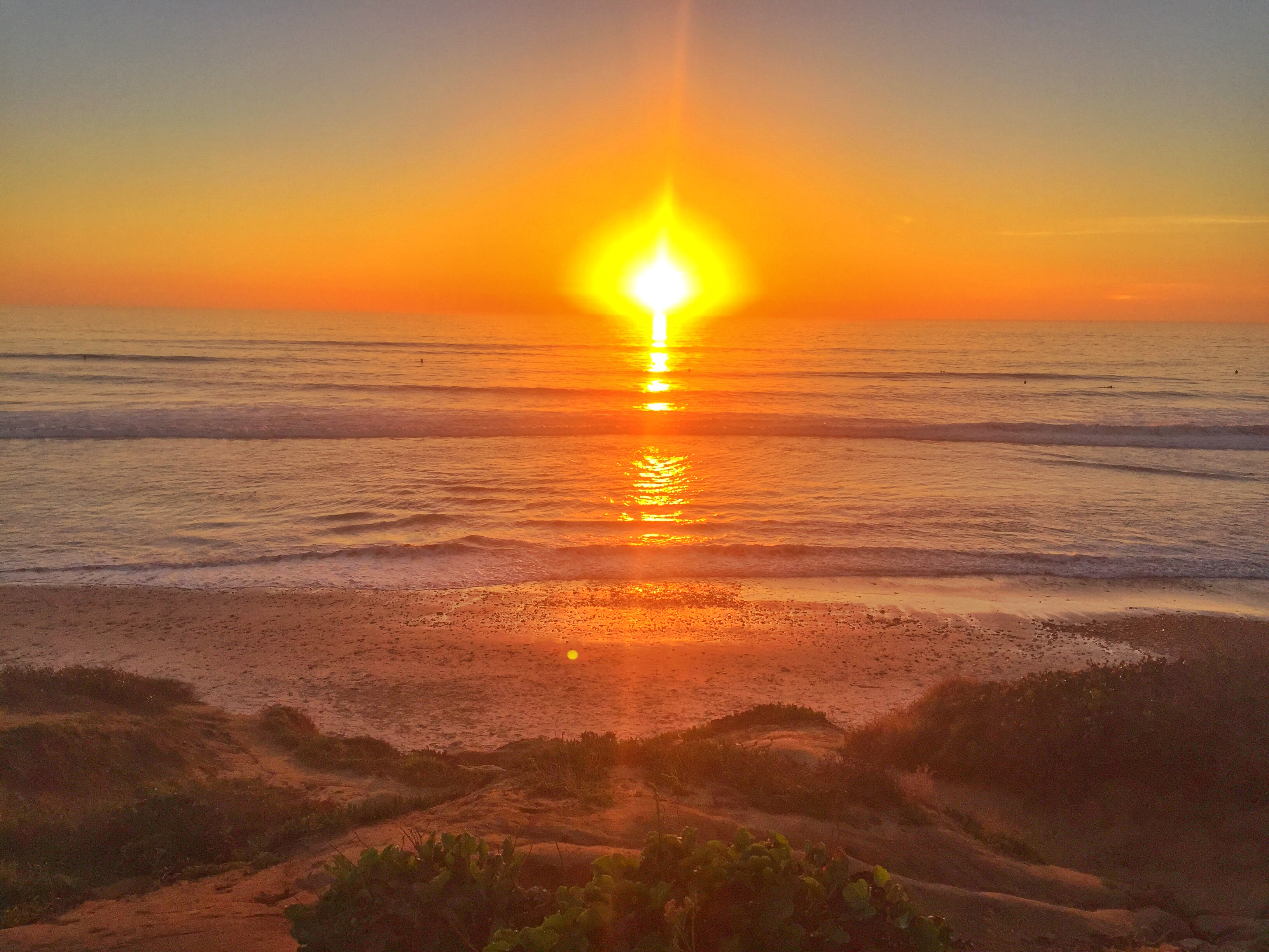 Carlsbad sunset-Feb 16